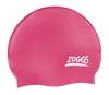 Шапочка для плавания Zoggs Silicone Cap Plain, розовая (300604PNK)
