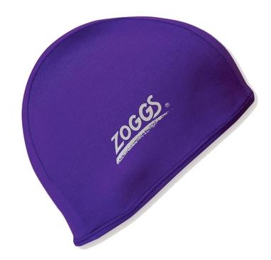 Шапочка для плавания Zoggs Stretch Cap, сиреневая (300607PRL)