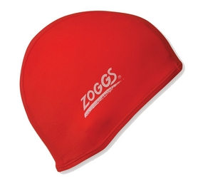 Шапочка для плавания Zoggs Stretch Cap, красная (300607RED)