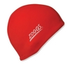 Шапочка для плавания Zoggs Stretch Cap, красная (300607RED)