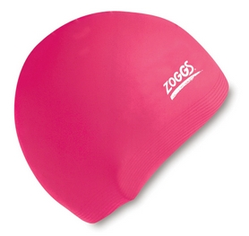 Шапочка для плавания Zoggs Junior Silicone Cap, розовая (300709PNK)