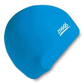 Шапочка для плавания Zoggs Junior Silicone Cap, голубая (300709BLU)