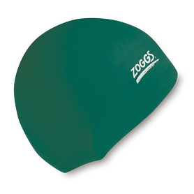 Шапочка для плавания Zoggs Junior Silicone Cap, зеленая (300709GRN)
