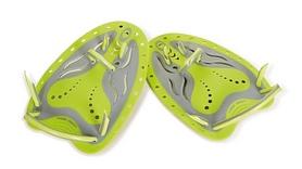 Лопатки Zoggs Matrix Hand Paddles Medium, желто-серые (Z-310662)
