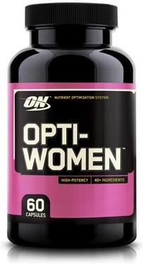 Комплекс витаминов и минералов Optimum Nutrition Opti-Women (60 капсул) для женщин