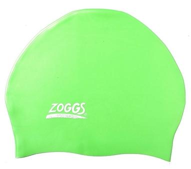 Шапочка для плавания Zoggs Easy Fit Silicone Caps, зеленая (300624TEl)