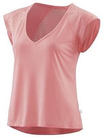 Футболка с коротким рукавом женская Skins Activewear Odot Tee Zinc, розовая (SP40461501035)