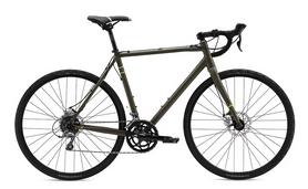 """Велосипед шоссейный Fuji Tread 1.7 Disc 28"""", рама – 56 см, Satin Dark Green (1162573556)"""