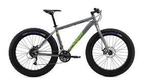 """Велосипед горный фэтбайк Fuji Wendigo1.3 26"""", рама – 17"""", Satin Gray/ Green (1164209917)"""