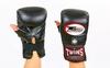 Распродажа*! Перчатки снарядные кожаные без пальца Twins TBGL-1F-BK черные - XL - Фото №2
