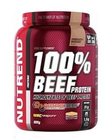 Протеин Nutrend 100% BEEF Protein - шоколад+орех, 900 г (NUT-1815)