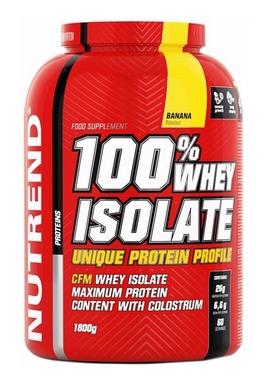 Протеин Nutrend 100% Whey Isolate - банан, 1800 г (NUT-1846)