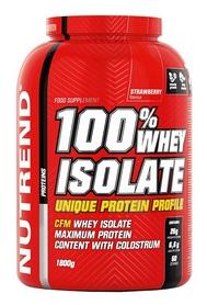 Протеин Nutrend 100% Whey Isolate - клубника, 1800 г (NUT-1848)