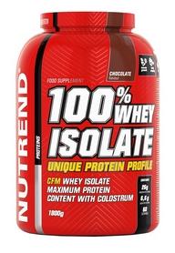 Протеин Nutrend 100% Whey Isolate - шоколад, 1800 г (NUT-1849)