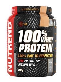 Протеин Nutrend 100% Whey Isolate - клубника, 900 г (NUT-1852)
