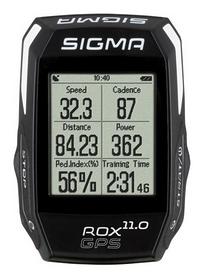 Велокомпьютер Sigma Sport Rox 11.0 GPS Set, черный (SD01008)