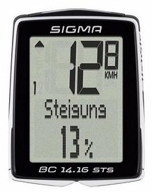 Велокомпьютер Sigma Sport BC 14.16 STS CAD (SD01418)