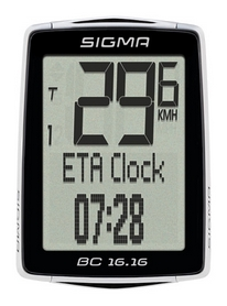 Велокомпьютер Sigma Sport BC 16.16 (SD01616)