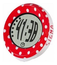 Велокомпьютер Sigma Sport MySpeedy Dots, красный (SD03006)