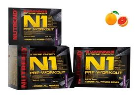 Комплекс предтренировочный Nutrend N1 - красный апельсин, 10х17 г (NUT-1861)