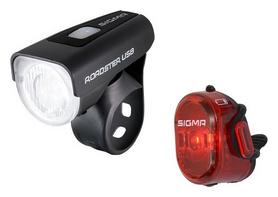 Комплект фонарей велосипедных Sigma Sport Roadster USB/Nugget II K-SET (SD18580)