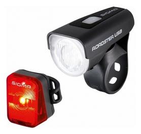 Комплект фонарей велосипедных Sigma Sport Roadster USB K-SET (SD18570)