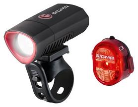 Комплект фонарей велосипедных Sigma Sport Buster 300/ Nugget II Flash (SD19550)