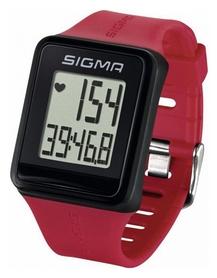 Пульсотахограф (пульсометр) Sigma Sport iD.GO, красный (SD24500)