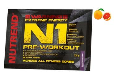 Комплекс предтренировочный Nutrend N1 - красный апельсин, 17 г (NUT-2033)