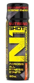 Комплекс предтренировочный Nutrend N1 Shot, 60 мл (NUT-2035)