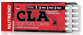 Жиросжигатель Nutrend CLA Softgel Caps, 60 капсул (NUT-1856)