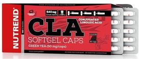Жиросжигатель Nutrend CLA Softgel Caps, 60 капсул (NUT-1856)