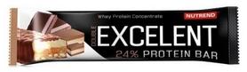Батончик протеиновый Nutrend Excelent Bar Double - шоколад+нуга с клюквой, 85 г (NUT-1654)