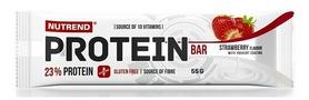 Батончик протеиновый Nutrend Protein Bar - клубника, 55 г (NUT-1889)