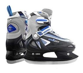 Коньки хоккейные Max City Desire, синие (DESIRE-B)