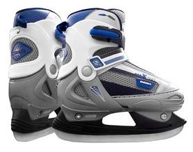 Коньки хоккейные Max City Enigma, синие (ENIGMA-B)