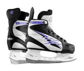 Коньки хоккейные Спортивная коллекция Turbo, синие (TURBO-BL)
