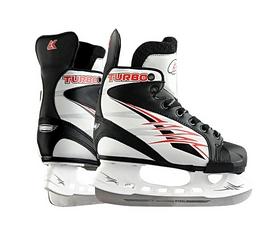 Коньки хоккейные Спортивная коллекция Turbo, красные (TURBO-R)