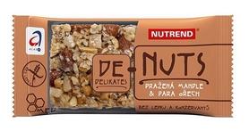 Батончик зерновой Nutrend De-Nuts - жареный миндаль + бразильский орех, 35 г (NUT-1341)
