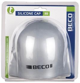 Шапочка для плавания Beco 3-D 7380, серая (000-3659) - Фото №2