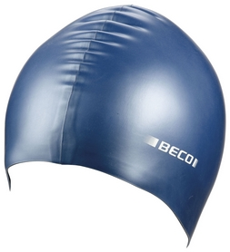 Шапочка для плавания Beco Metallic 7397, синяя (000-0444)