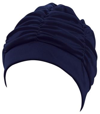 Шапочка для плавания женская Beco 7600, темно-синяя (000-0401)