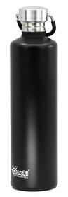 Бутылка для воды Cheeki Classic Single Wall Matte - черная, 1 л (CB1000MB1)
