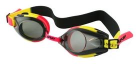 Очки для плавания детские Spurt 1200 AF, оранжево-желтые (000-0179)