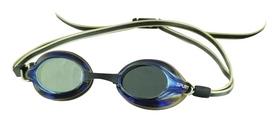 Распродажа*! Очки для плавания Spurt R-7 AF Mirror, золотисто-зеркальные (000-3675)