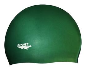 Шапочка для плавания Spurt Solid Color SH 74, зеленый (000-0333)