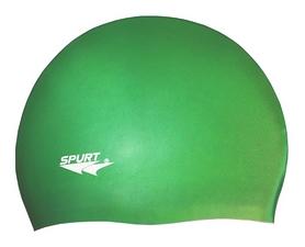 Шапочка для плавания Spurt Solid Color SH 88, светло-зеленый (000-0334)