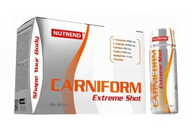 Жиросжигатель Nutrend Carniform Extreme Shot, 10 x 60 ml (NUT-1454)