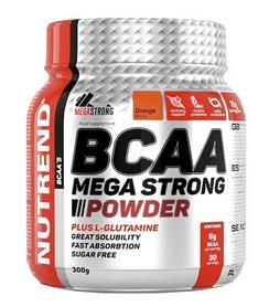 Аминокомплекс Nutrend Compress BCAA Mega Strong Powder - апельсин, 300 г (NUT-1927)