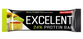 Батончик протеиновый Nutrend Excelent Protein Bar - лайм+папайя, 85 г (NUT-709)